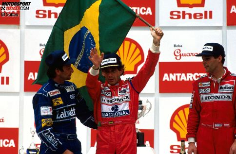 Eine Heimbilanz, die sich sehen lassen kann: Bei den 44 bisherigen Ausgaben des Brasilien-Grand-Prix landeten die Lokalmatadoren neun Siege. Vier Piloten waren zweimal erfolgreich, ein weiterer holte einen großen Pokal. Wir blicken zurück und beleuchten auch Dramen, die es in Sao Paulo und Jacarepagua rund um die Nationalhelden gab.