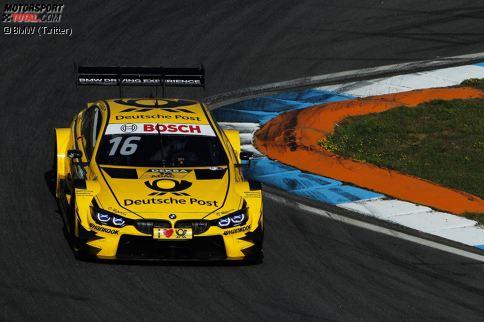 Der BMW M4 DTM von Timo Glock für die Saison 2017