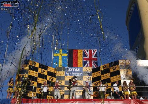 Zahlen und Fakten einer packenden DTM-Saison 2017: Ein anderer Blickwinkel auf das abgelaufene DTM-Jahr.
