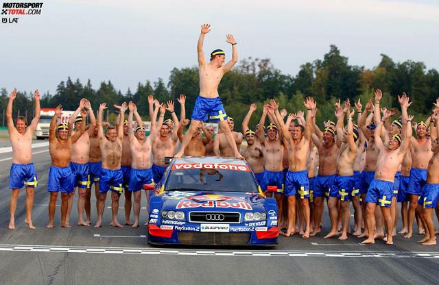 Audi-Fahrer Mattias Ekström ist immer für einen Spaß und coolen Spruch zu haben. 'Motorsport-Total.com' hat