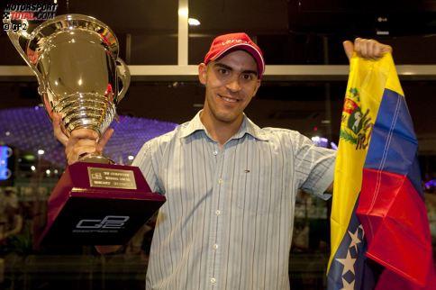 10. Venezuela (5 Piloten): Die Zeit der reichen Südamerikaner ist längst vorbei, doch während der Geldblüte konnten einige Fahrer an der Formel 1 schnuppern. Am erfolgreichsten war natürlich Pastor Maldonado, der 2010 Meister wurde und auch in der Formel 1 siegen konnte - einmal. Johnny Cecotto jun. bleibt als Rekordstarter in Erinnerung.