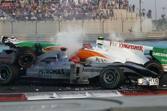 Der Große Preis von Abu Dhabi findet in diesem Jahr zum neunten Mal statt. Er steht seit 2009 ohne Unterbrechung im Formel-1-Kalender.