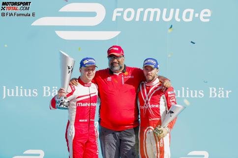 Bei Mahindra gibt es keinen Grund zur Veränderung. Felix Rosenqvist hat in seinem Debütjahr bewiesen, wie schnell er ist, und dem Team den ersten Sieg gebracht. Nick Heidfeld punktet mit Erfahrung und fünf Podestplätzen. Beide wurden für die neue Saison bestätigt.