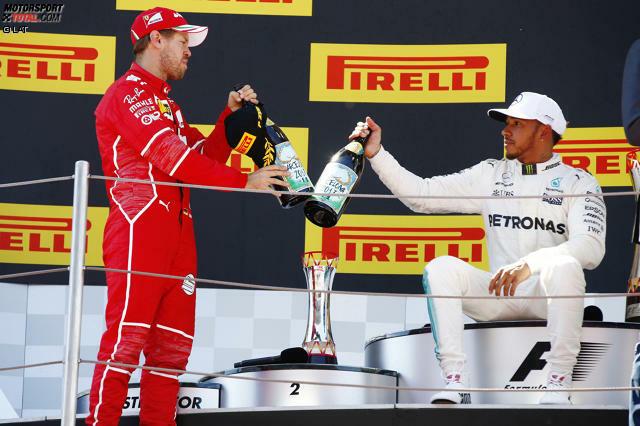 Die Formel-1-WM 2017 steht ganz im Zeichen des Duells der Giganten: Nach dem Europa-Auftakt in Barcelona haben Sebastian Vettel und Lewis Hamilton je zwei Siege auf dem Konto. Vorteil Vettel: sechs Punkte mehr. Vorteil Hamilton: die vielleicht besseren technischen Updates.