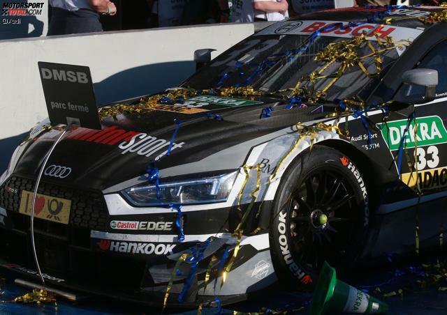 2017 war das Jahr des Rene Rast: Als Rookie in seinem ersten DTM-Jahr gewinnt der Audi-Fahrer im ersten Anlauf den Fahrertitel. Wir blicken auf sein Meisterjahr.