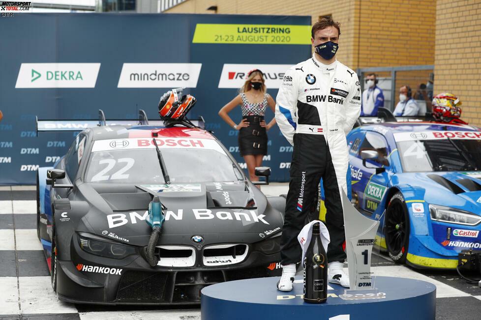 Beim dritten DTM-Saisonrennen 2020 auf dem Lausitzring beendet Lucas Auer nicht nur den über ein Jahr andauernden Siegfluch von BMW. Der Österreicher krönt sich auch zum 14. Piloten der DTM-Historie, der auf mehr als einer Marke ein DTM-Rennen für sich entscheidet. Doch wer sind die anderen? Jetzt durchklicken!