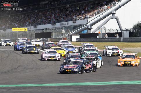 Nürburgring 2016, Rennen 2: Marco Wittmann (BMW) feiert einen Start-Ziel-Sieg am Nürburgring.