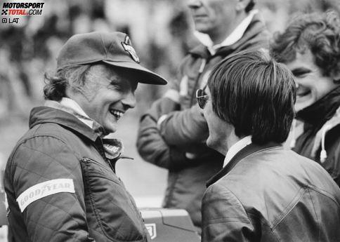 Platz 10: Niki Lauda (3 Jahre, 6 Monate, 25 Tage zwischen Italien 1978 und USA West 1982)