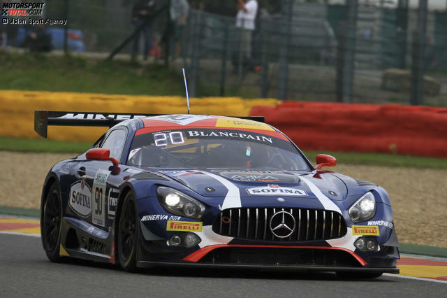 1. Akka-ASP-Mercedes #90 (Mortara/Meadows/Marciello) - 2:18.562