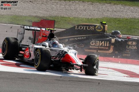9. Vitantonio Liuzzi - 80 Rennen: Der ehemalige Red-Bull-Junior fährt zwischen 2005 und 2011 80 Grands Prix, steht dabei aber nie auf dem Podest. Mit Red Bull, Toro Rosso, Force India und HRT kämpft er maximal um hintere Punkteränge und hat zwei sechste Plätze als bestes Ergebnis zu Buche stehen.
