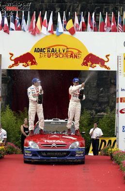2003: Sebastien Loeb/Daniel Elena - Citroen Xsara WRC