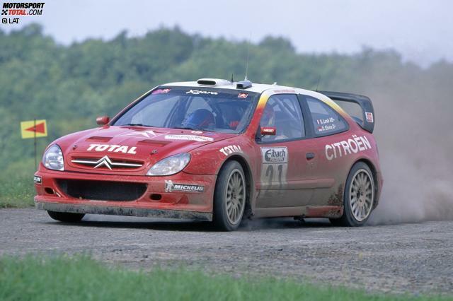 2002: Sebastien Loeb/Daniel Elena - Citroen Xsara WRC