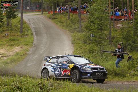 Platz 2: Rallye Finnland 2015 - Jari-Matti Latvala (Volkswagen Polo R WRC) - 125,4 km/h