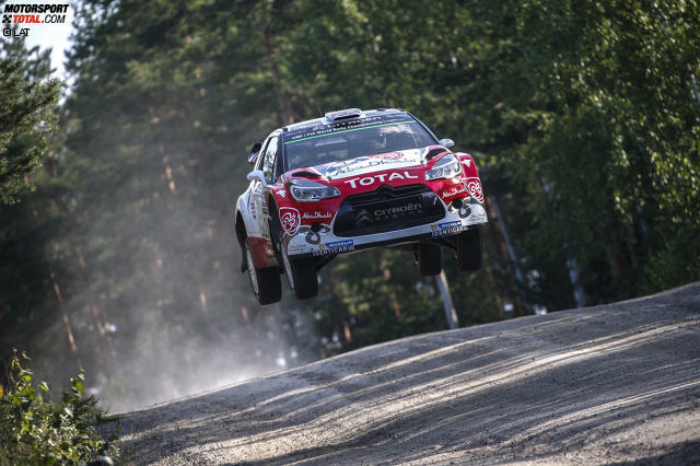 Platz 1: Rallye Finnland 2016 - Kris Meeke (Citroen DS3 WRC) - Durchschnittsgeschwindigkeit 126,6 km/h