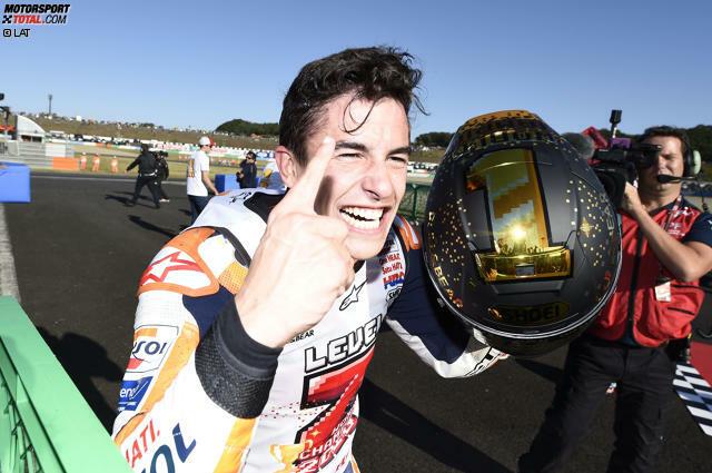 Er hat es wieder geschafft: Zum fünften Mal in seiner sechsten MotoGP-Saison gewinnt Marc Marquez den WM-Titel in der Königsklasse. Doch wie hat dieser Triumphzug begonnen? Eine Reise in die Vergangenheit ...