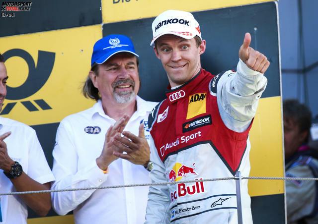 Auf Wiedersehen, Mattias Ekström! Das Audi-Urgestein verabschiedet sich nach 17 Jahren aus der DTM.