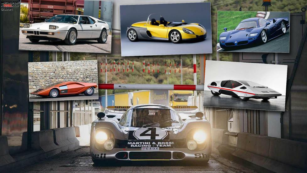 Vorhang auf für die 14 flachsten Autos der Welt!