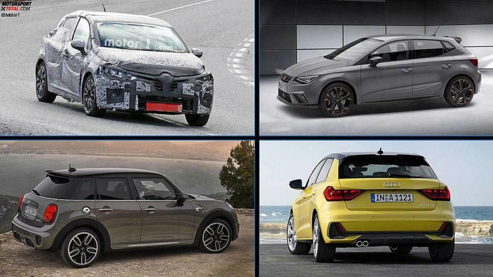 Im B-Segment passiert derzeit eine ganze Menge. Drei Bestseller wurden kürzlich modellgepflegt, ein neuer Premium-Kleinwagen steht kurz vor dem Verkaufsstart. Dazu werden wir im nächsten Jahr gleich drei komplett neue Autos sehen.