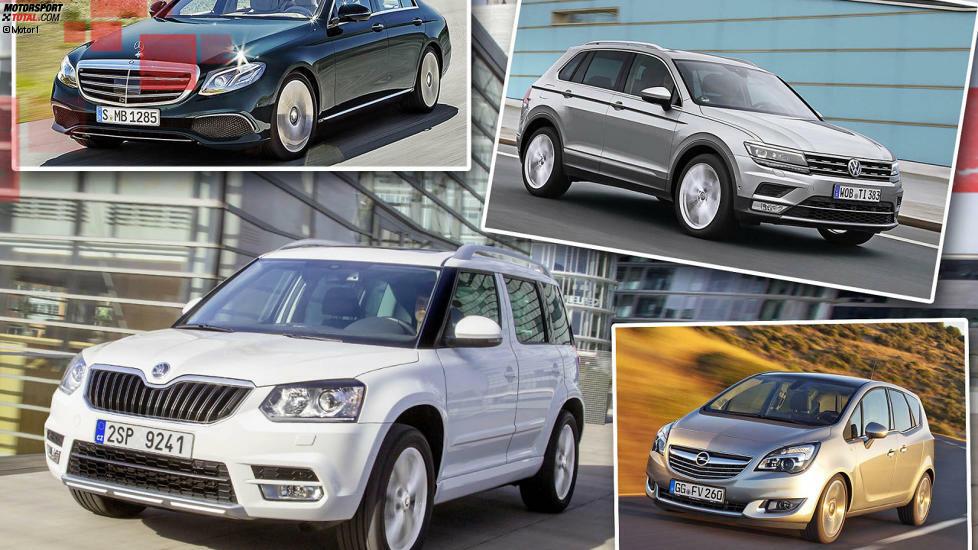 Das Vergleichsportal Verivox hat die 100 häufigsten Automodelle auf ihren Seniorenanteil überprüft. Wir zeigen die Top 10 unter den Autofahrern über 65 Jahre.