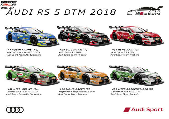 Automotive Design S | Die Audi Designs Fur Die Dtm 2018