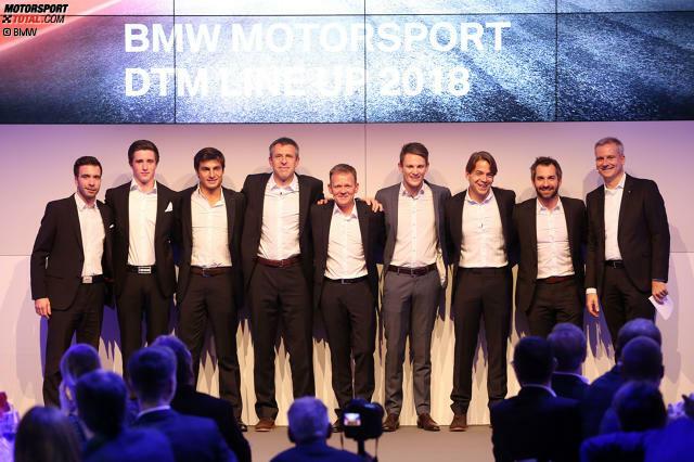 Die BMW-DTM-Fahrer 2018