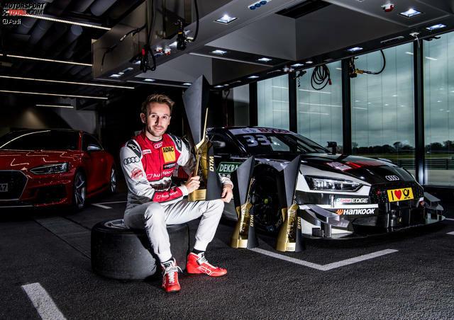 #33: Rene Rast (Audi/Deutschland) - Starts: 21, Siege: 3, Titel: 1 (2017)