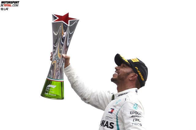 1. Lewis Hamilton - Letzter Sieg: Großer Preis von Italien 2018 für Mercedes