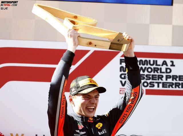 1. Max Verstappen - Letzter Sieg: Großer Preis von Österreich 2019 für Red Bull