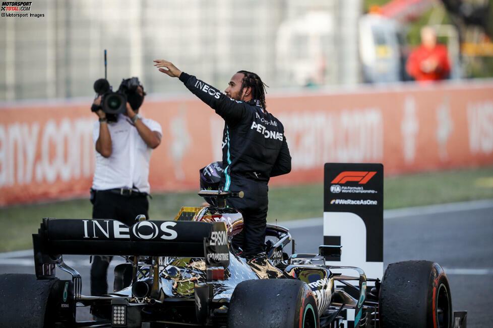 1. Lewis Hamilton - Letzter Sieg: Großer Preis der Toskana 2020 für Mercedes