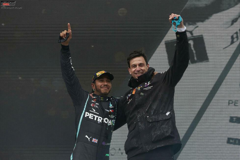 1. Lewis Hamilton - Letzter Sieg: Großer Preis der Türkei 2020 für Mercedes