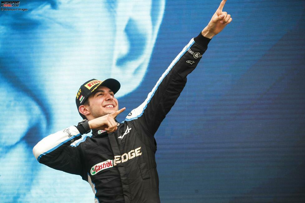 1. Esteban Ocon - Letzter Sieg: Großer Preis von Ungarn 2021 für Alpine