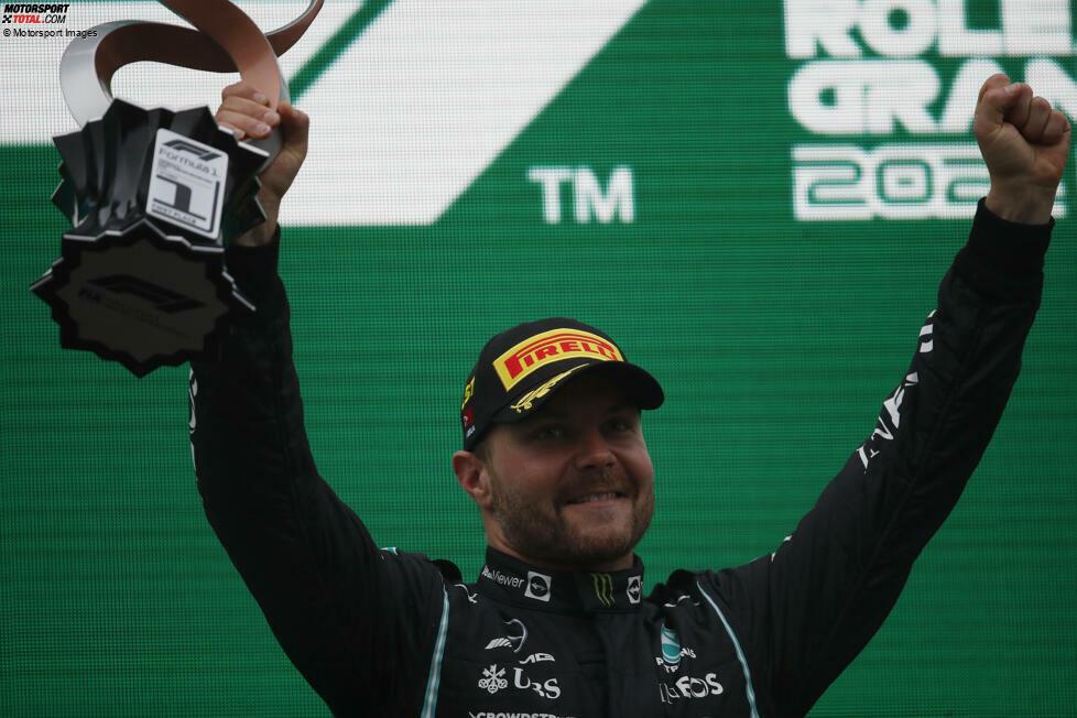 1. Valtteri Bottas - Letzter Sieg: Großer Preis der Türkei 2021 für Mercedes