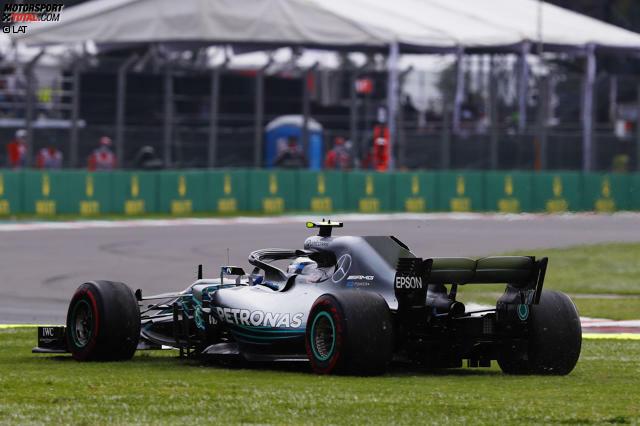 Valtteri Bottas (5): Die Diskrepanz zu Hamilton, der in Mexiko auch nicht sein bestes Wochenende hatte, war einfach zu groß. Wie er Vettel im ersten Stint vorbeiließ, als die Reifen noch gut waren, wirkte fast schon lustlos. Kein Wunder, dass Toto Wolff für 2020 schon mit Ocon plant.