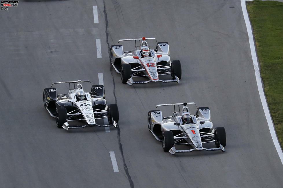 Team Penske 2018: Josef Newgarden, Will Power, Simon Pagenaud