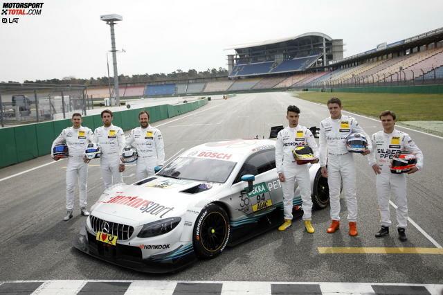 Die Mercedes-Design für die DTM-Saison 2018
