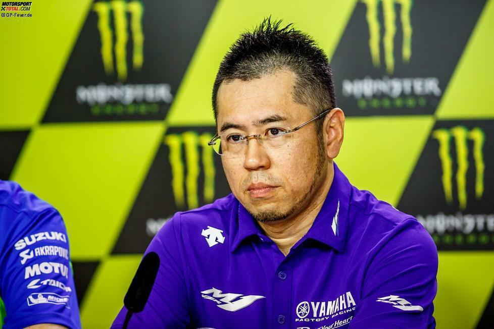 Platz 10: Öffentliche Entschuldigung - Das erlebt man nicht oft. Weil Yamaha beim Qualifying in Spielberg völlig untergeht, sehen sich die Japaner um M1-Projektleiter Kouji Tsuya gezwungen, sich öffentlich bei den Fahrern zu entschuldigen. Es ist der negative Höhepunkt einer teilweise desaströsen Yamaha-Saison.