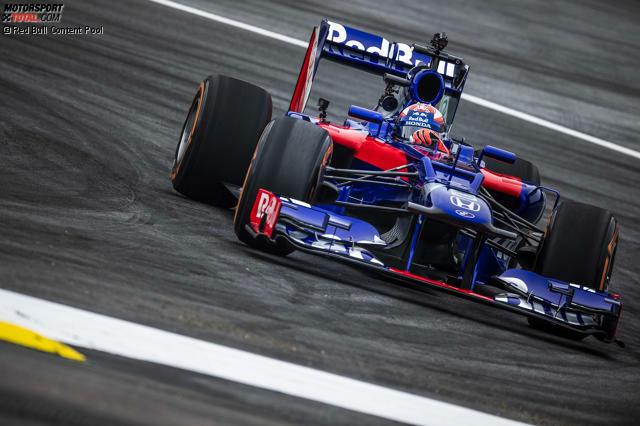 Anfang Juni 2018 wird für Marc Marquez ein Traum wahr: Auf dem Red-Bull-Ring darf der Honda-Pilot einen Toro Rosso aus dem Jahr 2012 testen. Kurios: Obwohl das Auto einen Ferrari hat, steht auf der Verkleidung