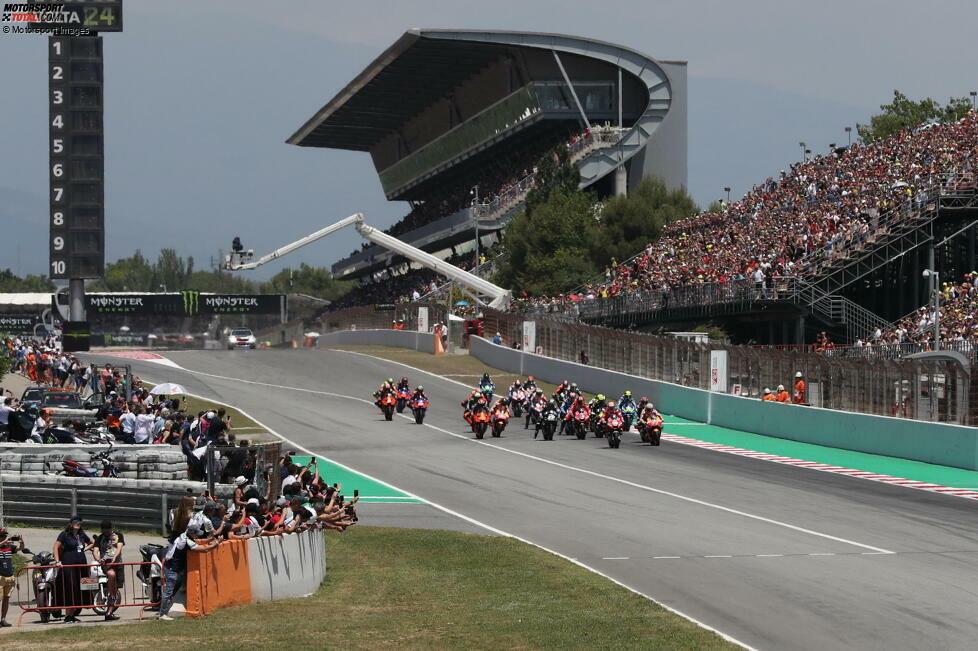 #10: Circuit de Barcelona-Catalunya (Spanien) - 168,944 km/h