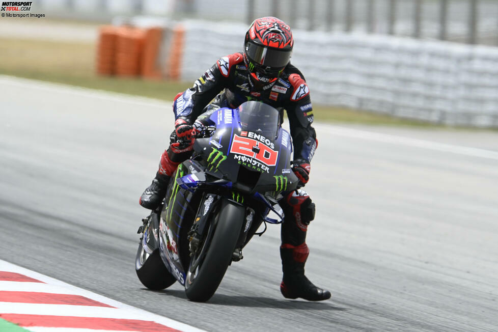 2021: Fabio Quartararo (Yamaha) mit 1:38.853 Minuten