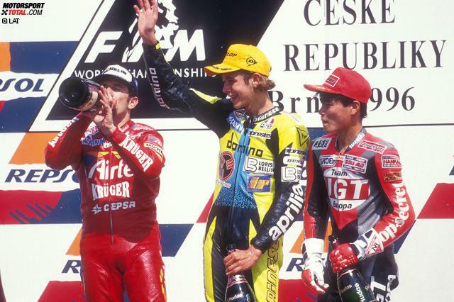 1996: WM-Debüt in der 125er-Klasse