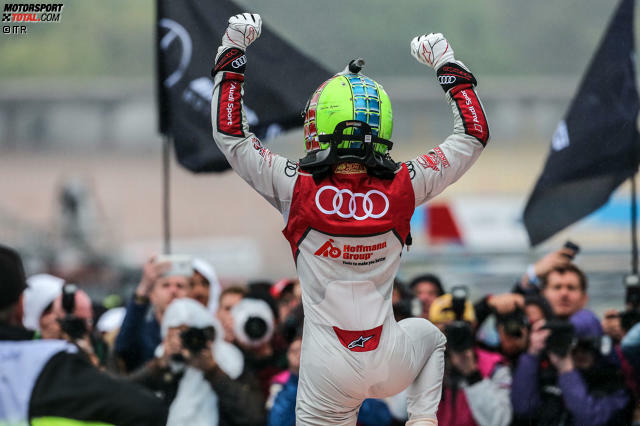 Saisonauftakt Hockenheim 2017, Rennen 2: Audi-Pilot Jamie Green ist der erfolgreichste aktive DTM-Fahrer auf dem Hockenheimring. 2017 gewinnt der Brite das Sonntagsrennen beim Auftaktwochenende.