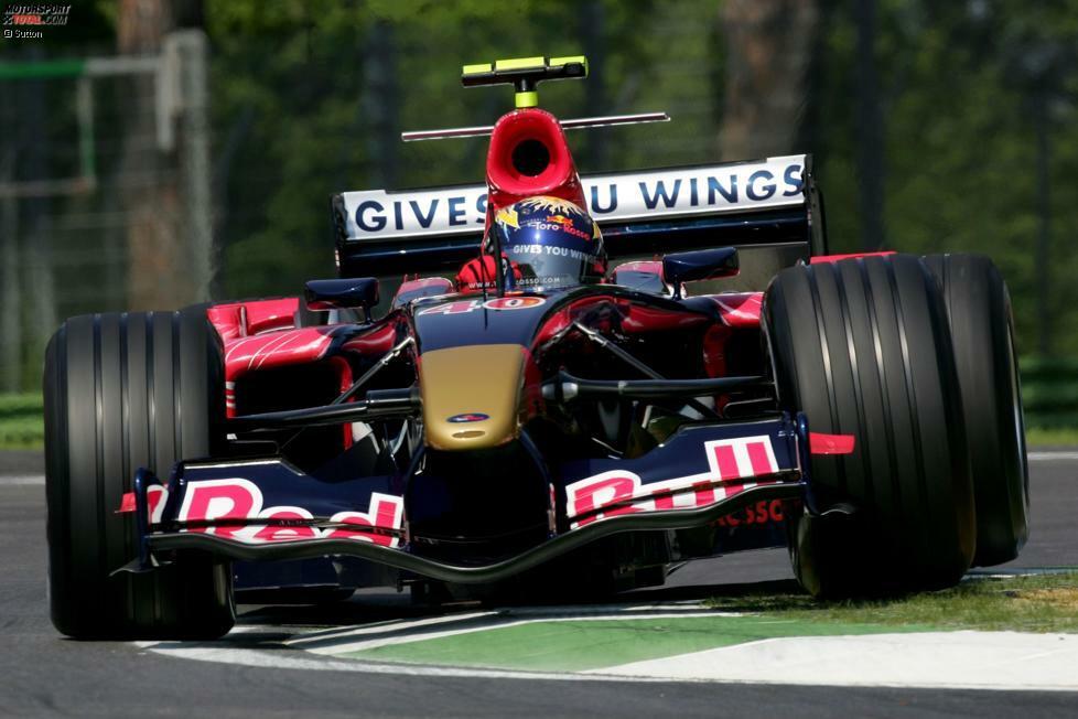 2006: Toro-Rosso-Cosworth STR1 - Fahrer: Vitantonio Liuzzi/Scott Speed