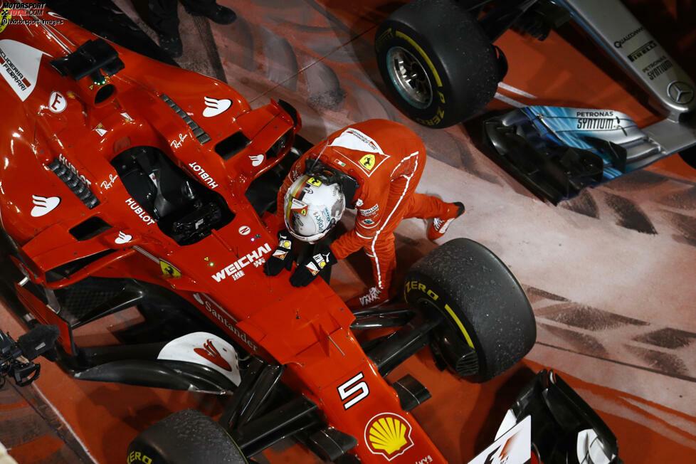 Sebastian Vettel pflegt eine besondere Beziehung zu seinen Formel-1-Autos: Er gibt ihnen Spitznamen! Und in dieser Fotostrecke stellen wir seine