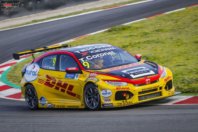 Boutsen Ginion Racing, Honda Civic FK8 Type R TCR: #9 Tom Coronel (Niederlande), #18 Tiago Monteiro (Portugal)