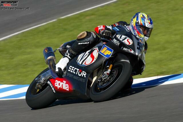 2002 - Fahrer: Regis Laconi - Bilanz: 0 Podestplätze; 5. Platz Herstellerwertung mit 33 Punkten