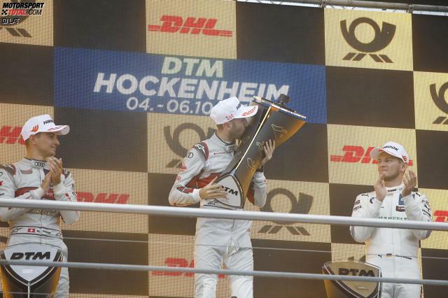 Audi-Pilot Nico Müller fordert in der DTM-Saison 2019 seinen Markenkollegen Rene Rast und Zweifach-Champion Marco Wittmann (BMW) heraus. Das Pendel schlägt im Laufe der Saison in verschiedene Richtungen aus ...