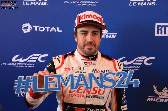 Fernando Alonso (Toyota #8): 312 GP-Starts, 32 Siege (2001-2018)