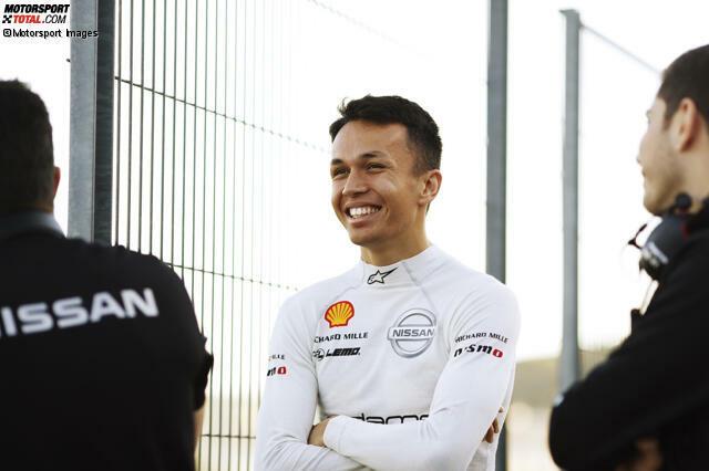 20. September 2018: Nissan bestätigt den damaligen Formel-2-Fahrer Albon für die Formel-E-Saison 2018/19. Seinen Traum von der Formel 1 hat er da eigentlich schon aufgegeben ...
