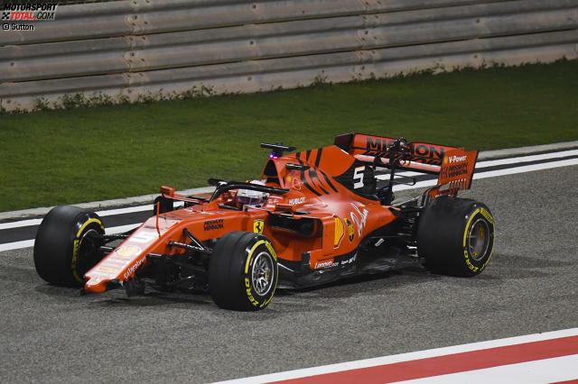 Sebastian Vettel (5): Vom Speed her konnte er Leclerc das Wasser nicht reichen, und er konnte nicht wirklich erklären warum. Das ist im Duell eines viermaligen Weltmeisters gegen einen Ferrari-Newcomer kein gutes Zeichen. Dass er am Dreher im Duell mit Hamilton selbst schuld war, gibt Vettel offen zu.