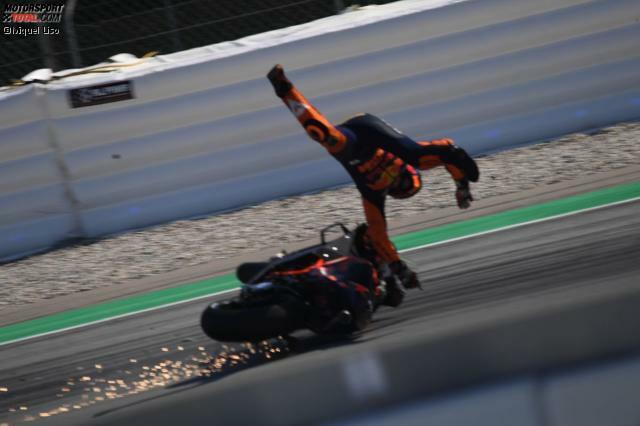 Sturz: Pol Espargaro (KTM)